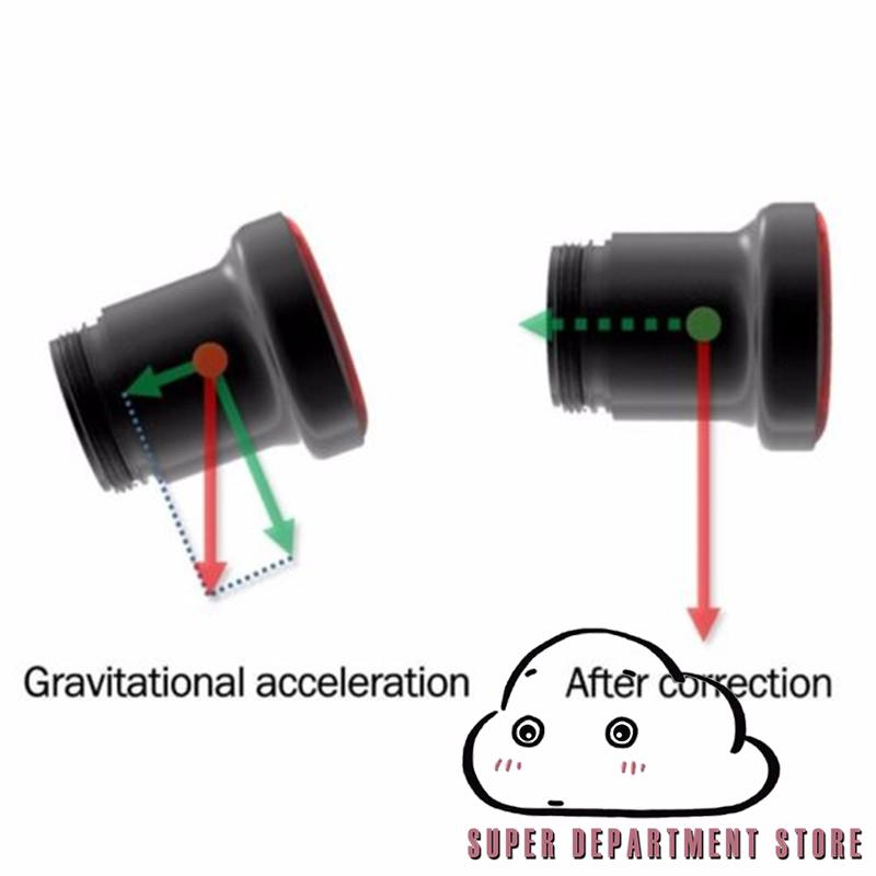Waterproof Bicycle Smart Brake Light Sense LED USB Tail Light Rear Lamp.