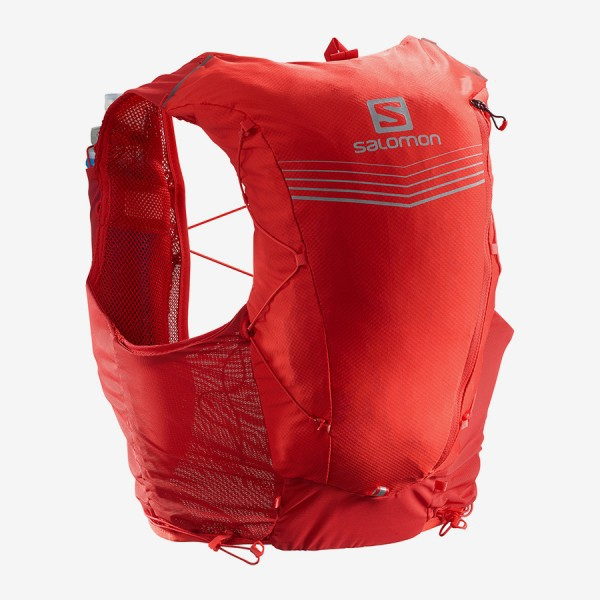 Salomon Berry Adv Skin 12 ชุดกระเป๋าเป้สะพายหลังเหมาะกับการพกพาเดินทาง