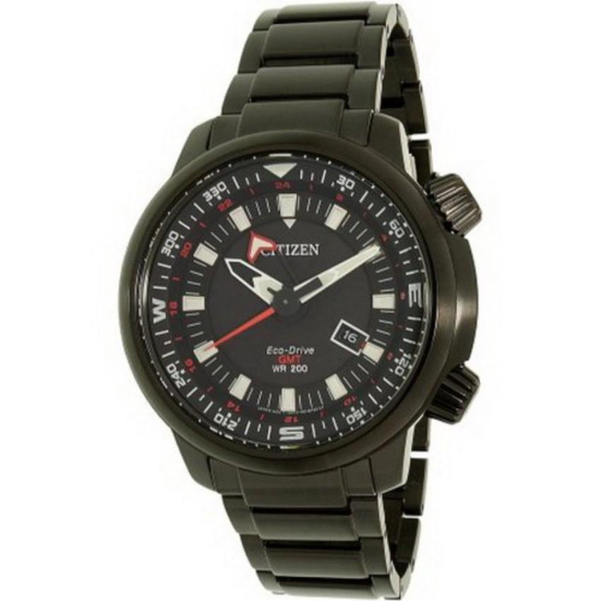 Citizen Eco-Drive Power Reserve GMT 200M BJ7085-50E นาฬิกาชาย
