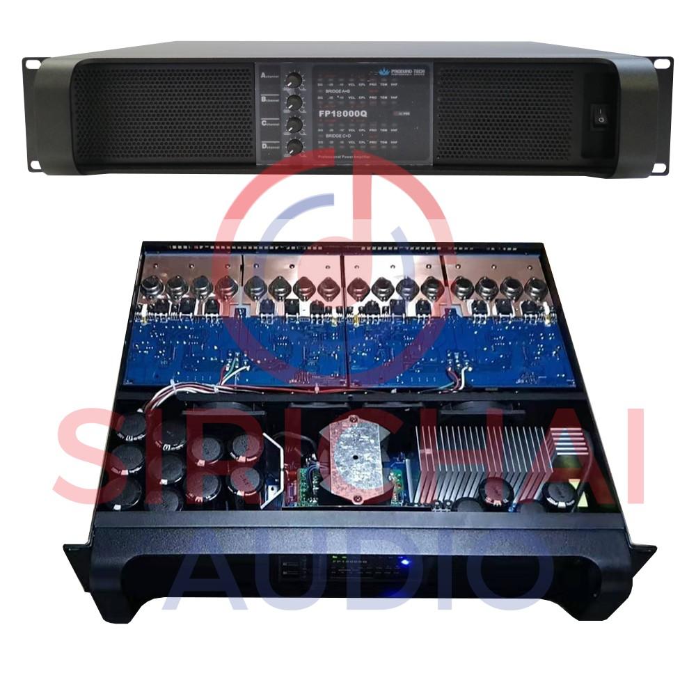 Amp ขยาย PROEUROTECH รุ่น FP18000Q (4Channel)