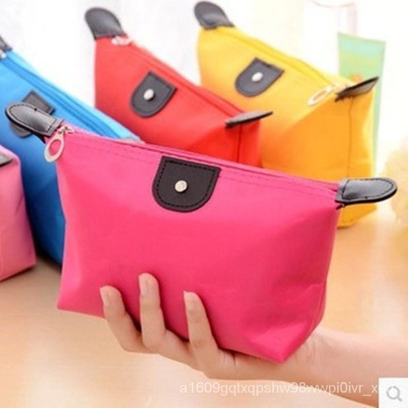 กระเป๋า กระเป๋าเครื่องสำอาง กระเป๋าเป้ผู้หญิง กระเป๋าสะพายข้างแฟชั่น 【5ติดตั้งราคาไม่แพงมาก】กระเป๋าเดินทางแบบพกพากระเป๋า