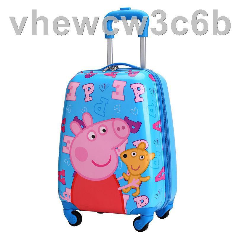 ❒⊕รถเข็นเด็ก 18 นิ้วรถเข็นเด็ก, กระเป๋าเดินทางเด็ก, กระเป๋าเดินทางล้อสากลชายและหญิง, กระเป๋าเดินทาง, การ์ตูนเจ้าหญิงห้าส