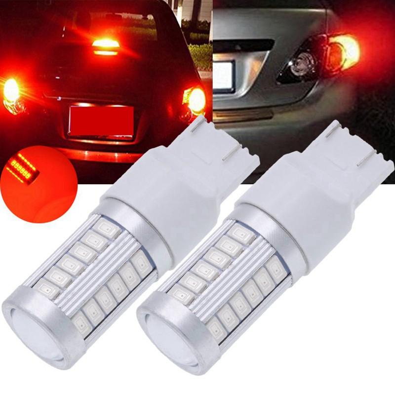 8 LED DRL BAR CAR BRIGHT TAIL STOP BRAKE BACKUP LIGHT BULB Daytime Running Light