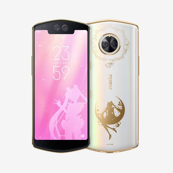 สมาร์ทโฟน Meitu T9 Sailormoon limited  128GB google Play store