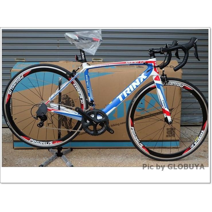 จักรยานเสือหมอบ TRINX RAPID1.0 CARBON 18 สปีด Sora, TRINX MY2017
