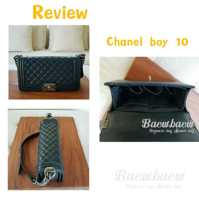 ที่จัดระเบียบกระเป๋า Chanel boy 8 Chanel boy 10 ixFo