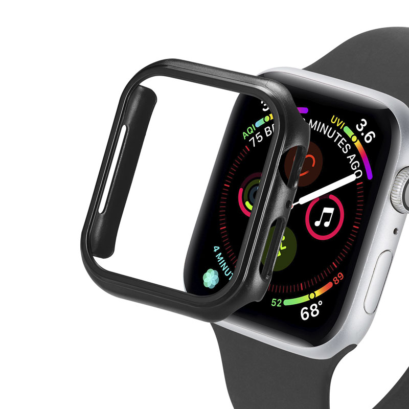 iWatch Matte PC Case Apple Watch Series 5/4/3/2/1 Light Cases 40mm 44mm Shockproof Protector Cover