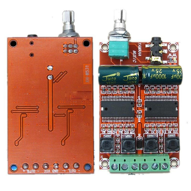 XH-M577 Digital Power Amplifier Board TPA3116D2 Audio Amplifier Board PA