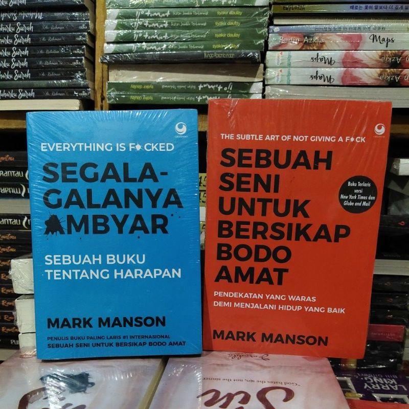 แพคเกจ 2 หนังสือ Everything Ambyar An Books An Books สําหรับ Behavior Bodo Amat