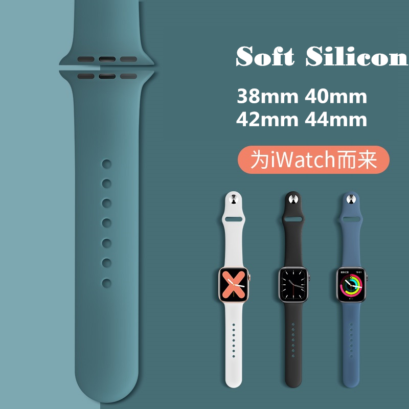 Strap For Appl e i Watch band 44mm/40mm i watch band Series 3, Series 2, Series 1 40mm 38mm correa pulseira watch band for apple watch Series5 Series4 Series3 Bracelet 44 mm 42mm
