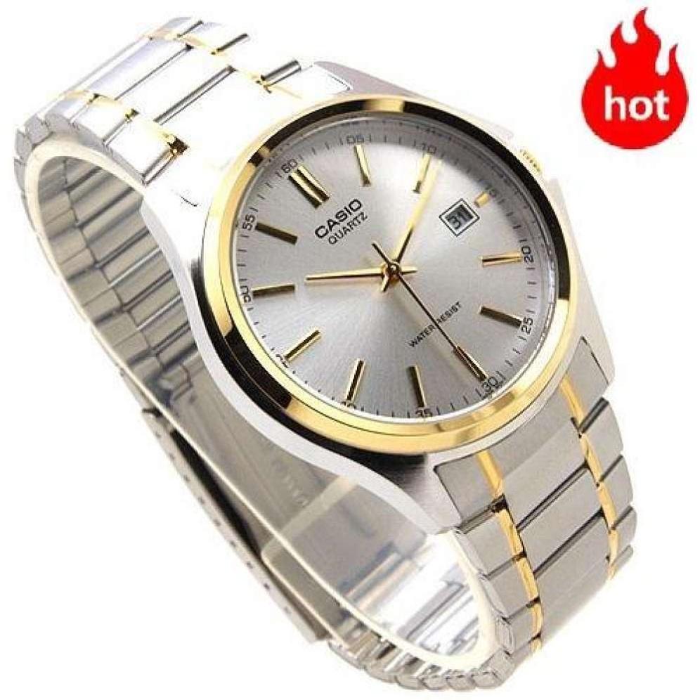 จัดส่งฟรี(ขายดีอันดับ 1) Casio นาฬิกาข้อมือผู้ชาย รุ่น MTP-1183G-7ADF สายสแตนเลส สองกษัตริย์ - มั่นใจ ของแท้ 100% ประกัน