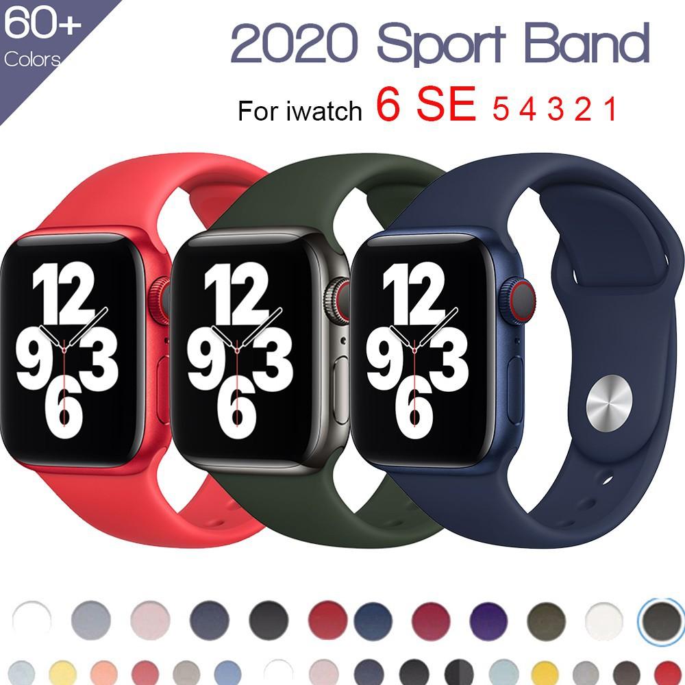สาย applewatch สายนาฬิกา applewatch 🔥พร้อมส่ง🔥apple watch band สาย applewatch ขนาด 44 มม. 40 มม.38 มม.42 มม.ชุด6 SE 5