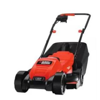 Black&Decker รถตัดหญ้าไฟฟ้า 1200W รุ่น Emax32 (สีส้ม)