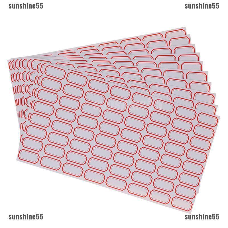 50 MEDIUM PLAIN GIFT TAGS PRICE LABELS WHITE