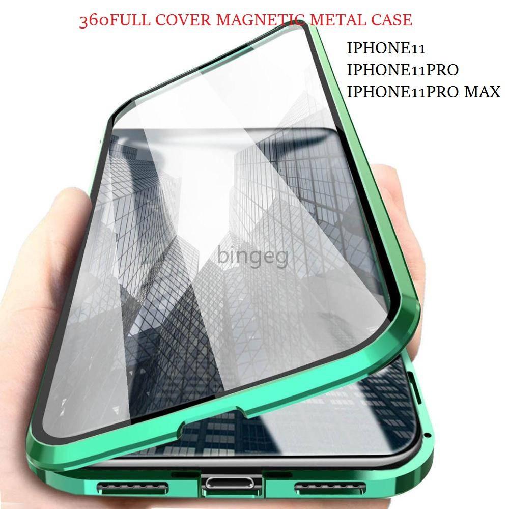 เคสโทรศัพท์มือถือแบบสองด้านสําหรับ Iphone 11 , 11pro , 11pro Max , 12 Mini , 12 Pro , 12pro Max Hd