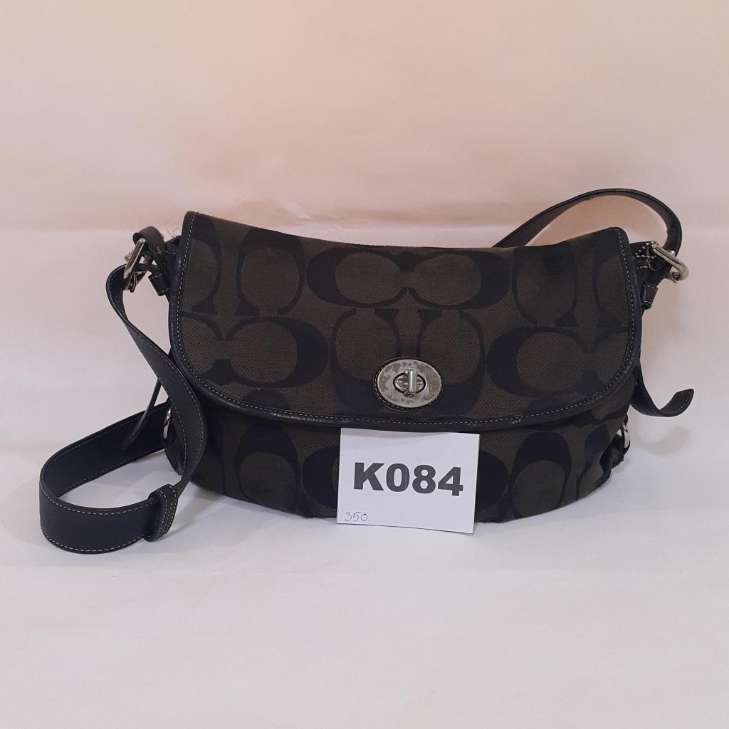 กระเป๋า coach ผ้า ของแท้ 100% K084