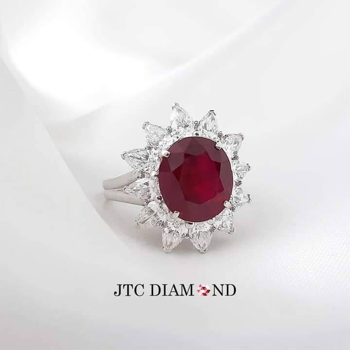 แหวนทองคำแท้ แหวนเพชรแท้ แหวนทับทิม