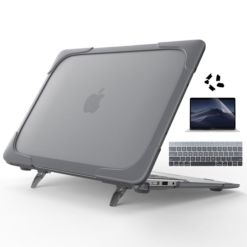 "Keyboard Skin+LCD for MacBook Air Pro Retina 13/"" 15/"" Rubberized Hard Case Shell"