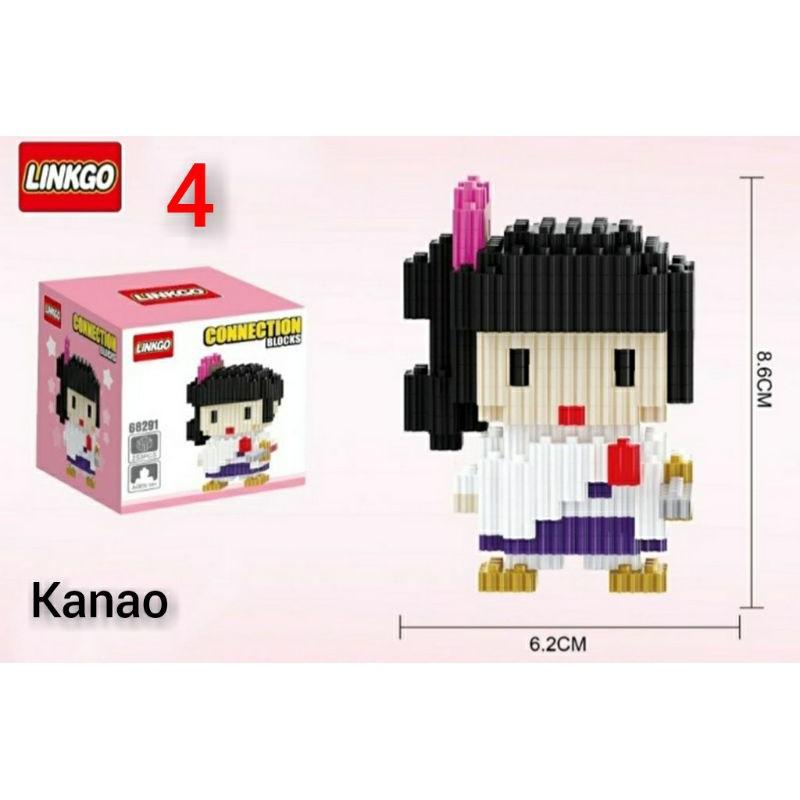 อะนิเมะ รูปอะนิเมะ kimetsu no yaiba 3d design Lego kyojuro Giyu shinobu kanao toys figure oRzv