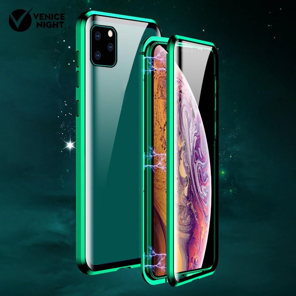 ( Venicenight ) เคสโทรศัพท์มือถือแบบสองด้านสําหรับ Iphone 11 Pro Max