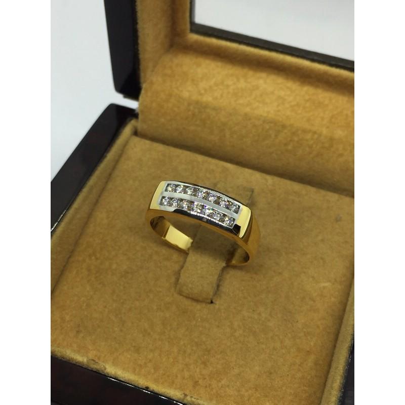 แหวนสวยๆทองแท้เพชรแท้ราคาโรงงาน