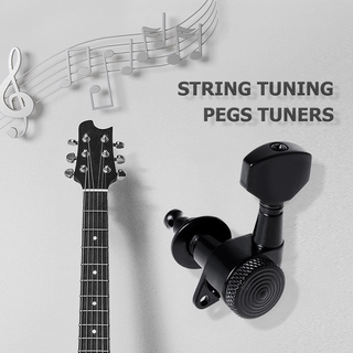 Acoustic Guitar String Peg Locking Tuners Tuning Pegs Machine Heads Guitar Parts for Music Lovers Playing Accessories