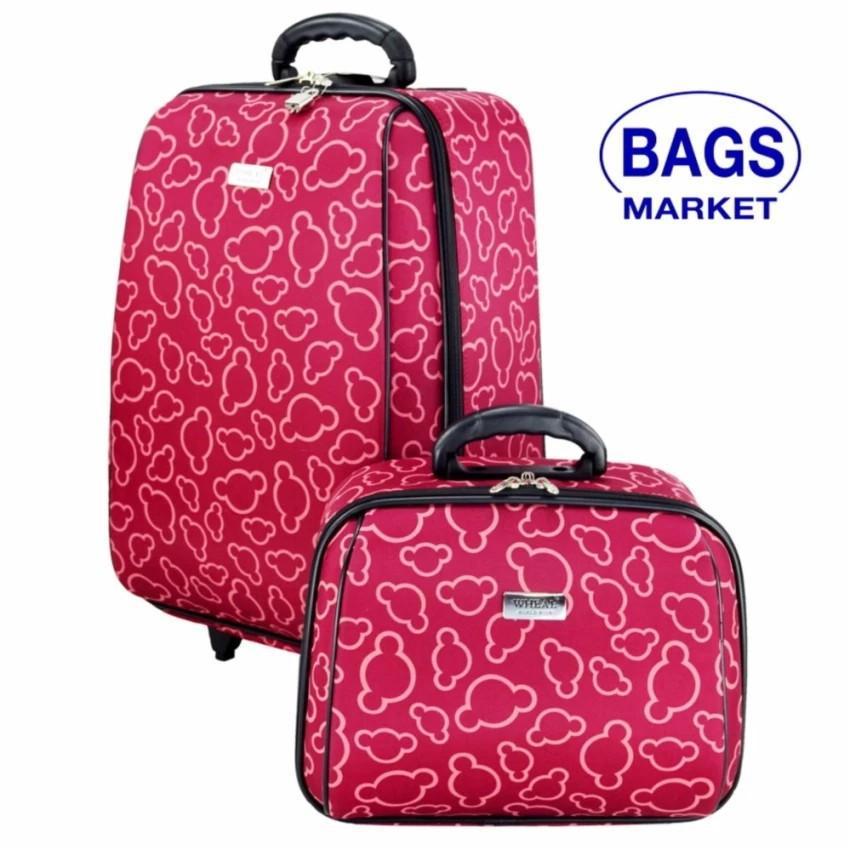 กระเป๋าเดินทางล้อลาก Luggage Wheal เซ็ทคู่ ลิขสิทธิ์ของแท้ 20/14 นิ้ว Code FBL7720-2  กระเป๋าล้อลาก กระเป๋าเดินทางล้อลาก