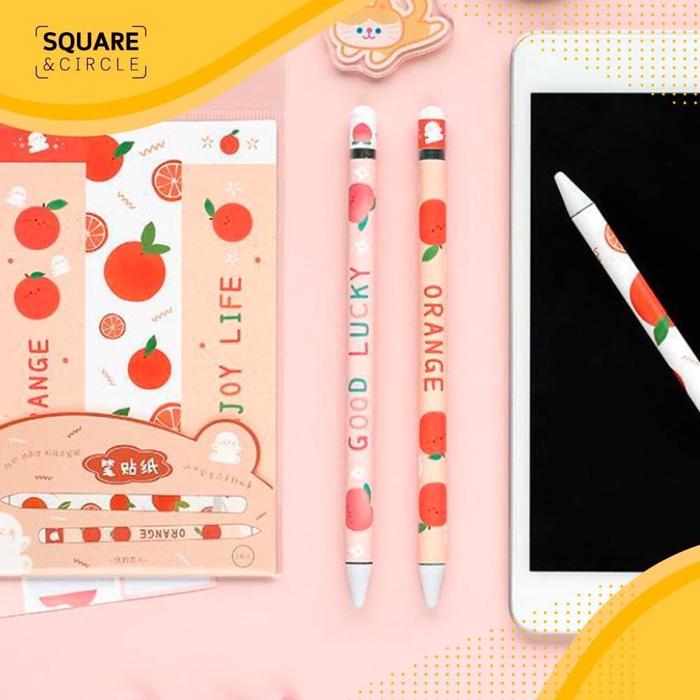 (พร้อมส่ง) สติ๊กเกอร์ Sticker Apple Pencil รุ่น 1/2