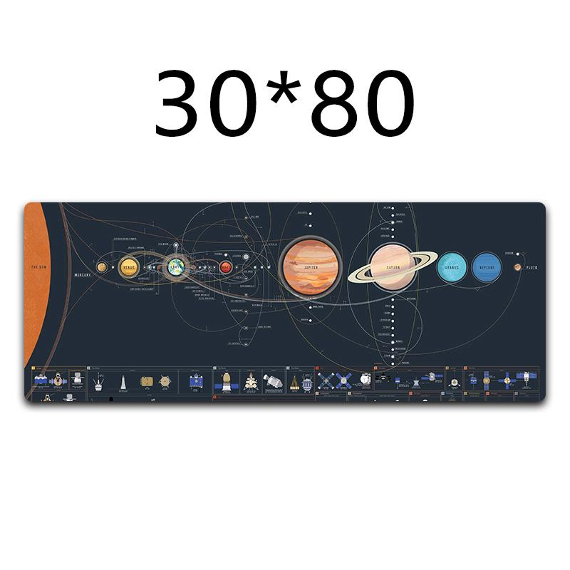 Home Office Table Computer Desk Mat Leather Laptop Cushion Keyboard Mouse Pad