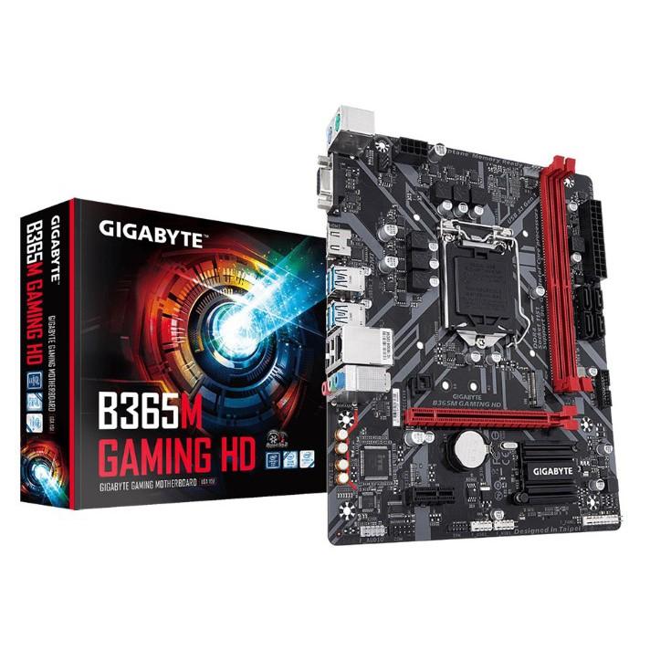 GIGABYTE MAINBOARD  (เมนบอร์ด) 1151 B365M GAMING HD