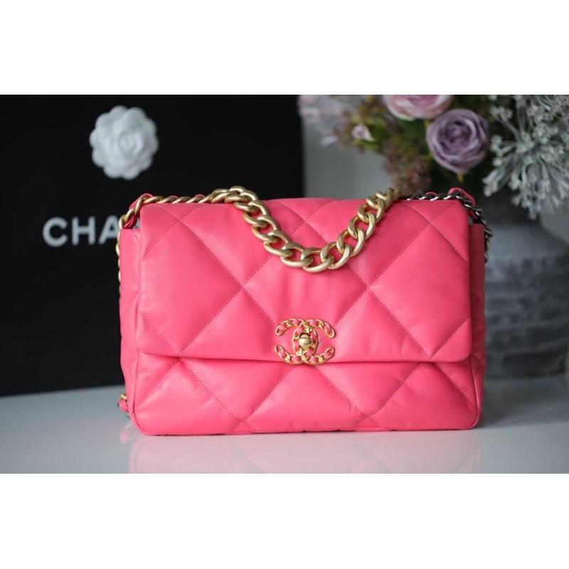 Chanel19 Flap Bag VIP Pink