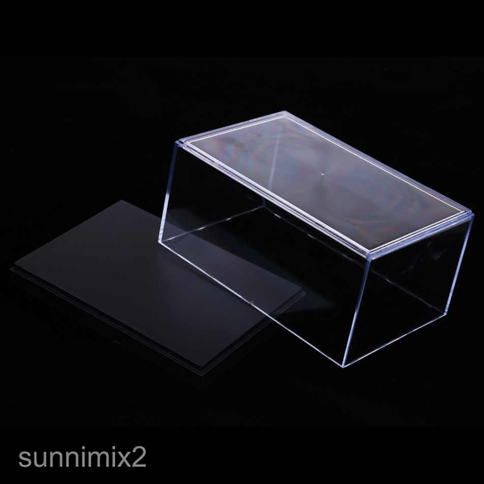 Car Toy Acrylic Display Case//Box Dustproof for Action Figure 17x11x5.5cm