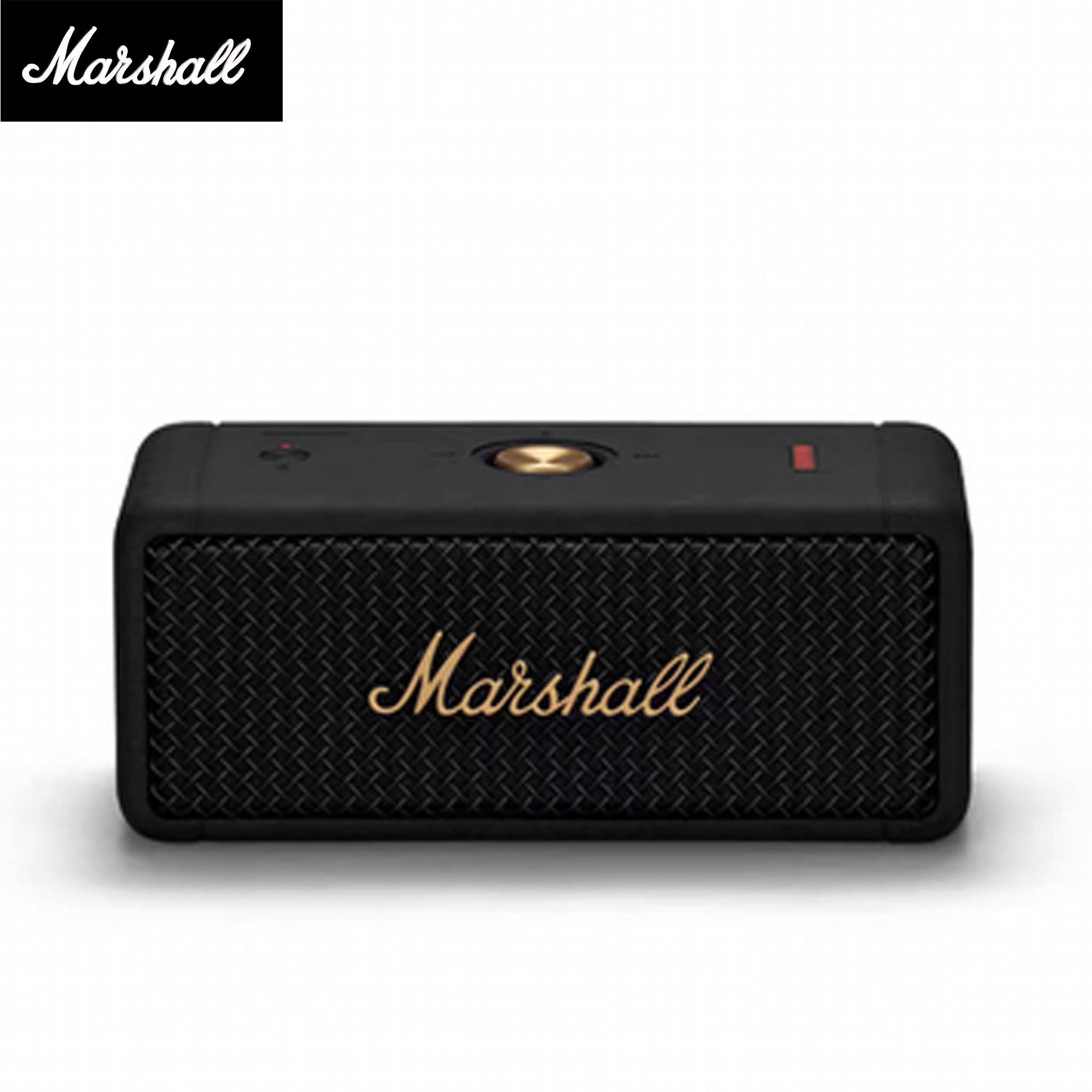 Marshall Marshall Emberton ลำโพงบลูทู ธ แบบพกพา - Black อังกฤษ