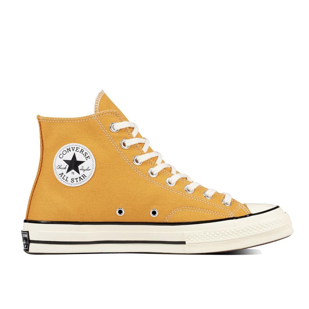 Converse All Star 70 Sunflower Yellow hi (Classic Repro) สีเหลือง รองเท้า คอนเวิร์ส รีโปร 70