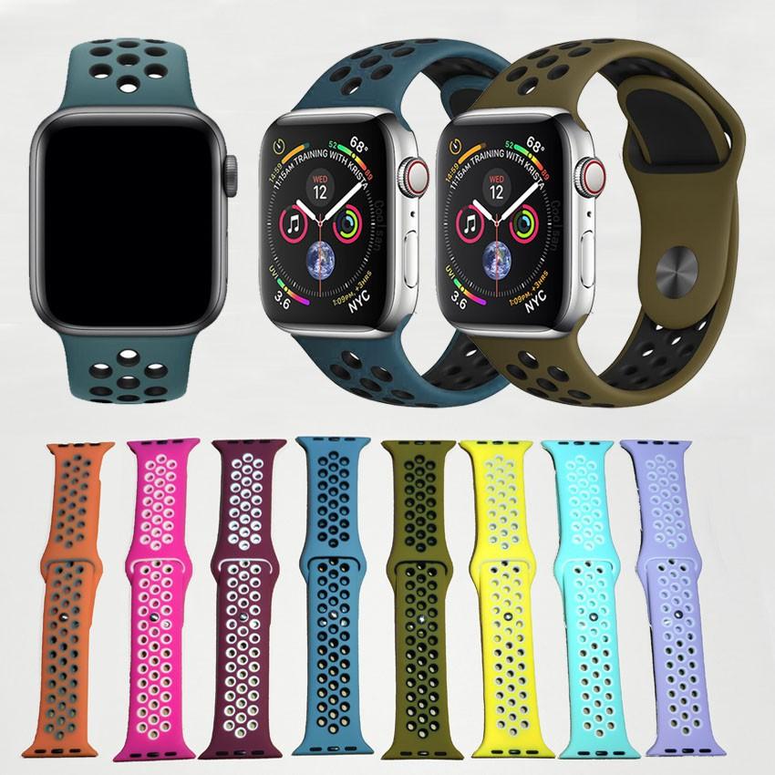 สาย applewatch 🔥พร้อมส่ง🔥สาย 42/44mm. Applewatch ทุกซีรี่ย์ 38 สี
