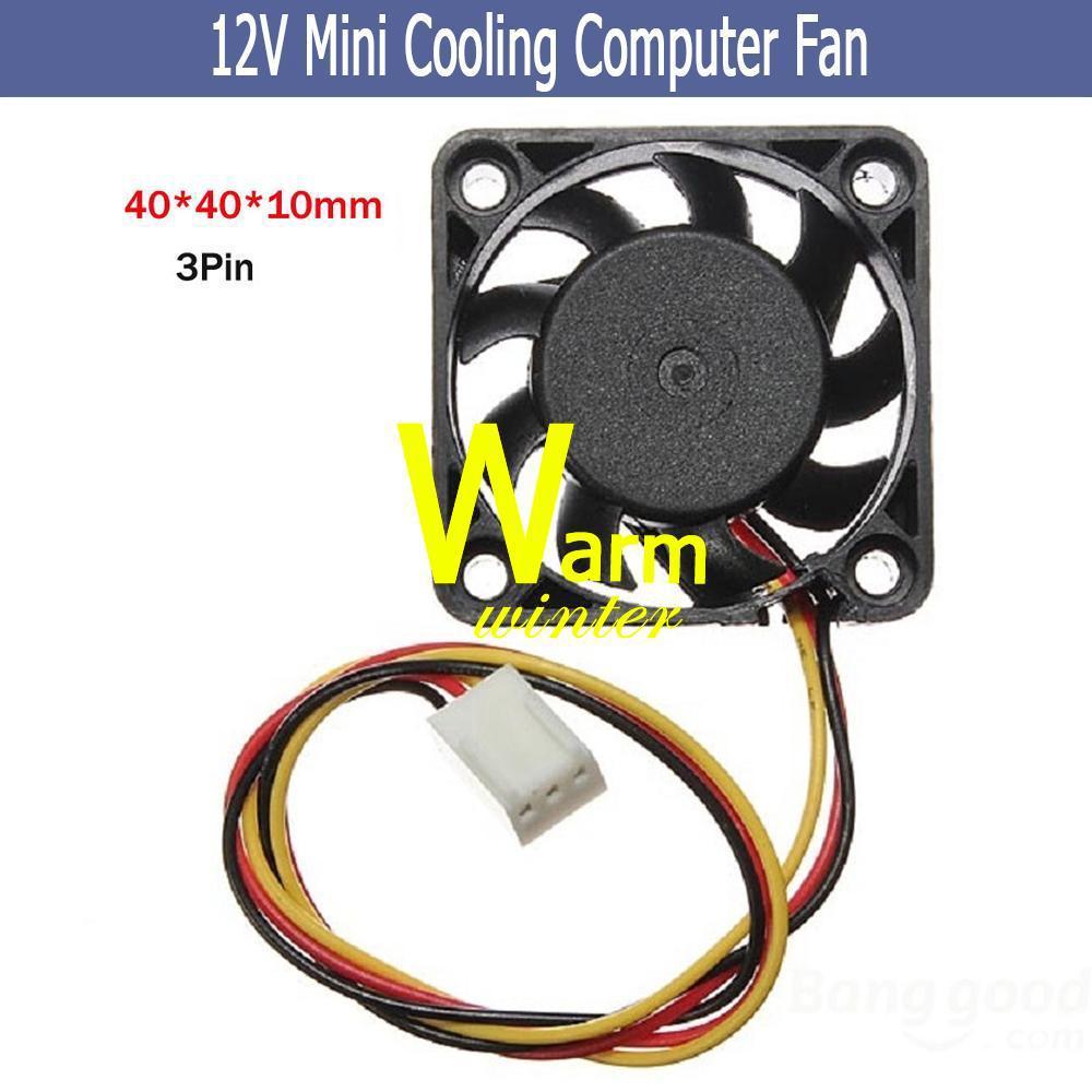 x 10mm Mini Computer Fans DC Brushless Fan CPU System Heatsink Cooling Cooler