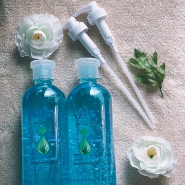 เจลล้างมือ Alcohol hand gel (alcohol 70% + aloe vera)