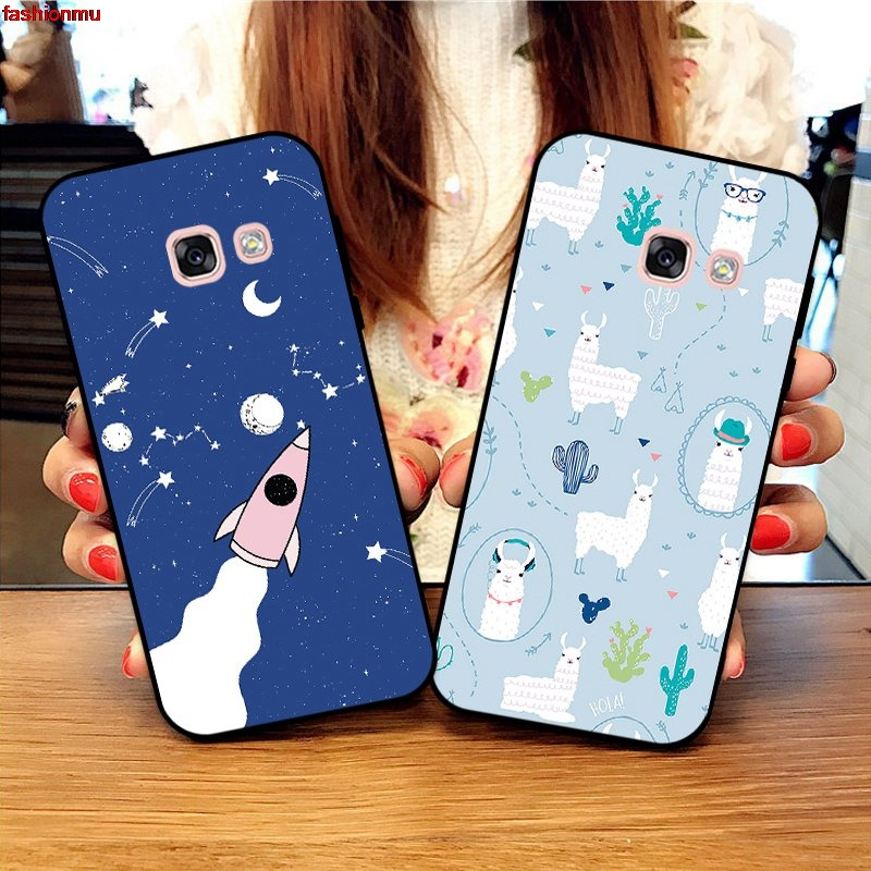 Samsung A3 A5 A6 A7 A8 A9 Pro Star Plus 2015 2016 2017 2018 HHDW Pattern-4 Silicon Case Cover