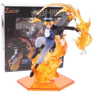 Japan Anime Figuarts Zero One Piece POP Aokiji Kuzan Action Figuren 23cm No Box