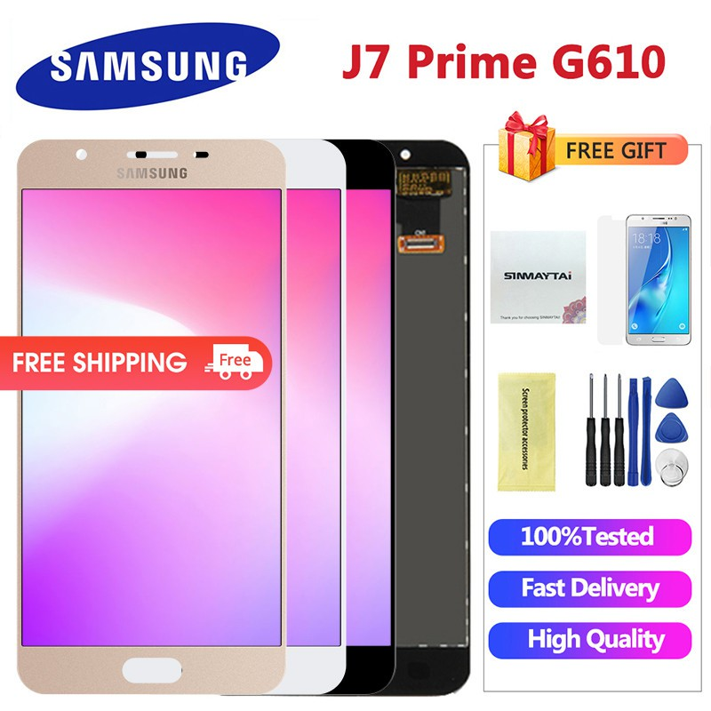 j7 prime g610f lcd For Samsung Galaxy J7 Prime screen G610 G610F G610M LCD  Display Touch Screen Digitizer Replacement