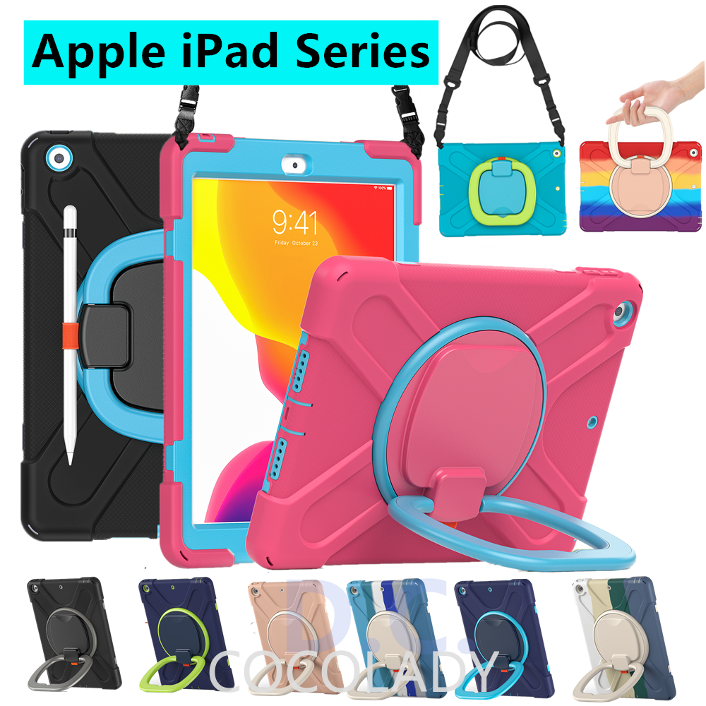"""Apple iPad 8th 7th Gen 10.2inch iPad Casing Premium Shockproof Armor cover Apple iPad 10.2"""" 2020 2019 Case with pencil h"""