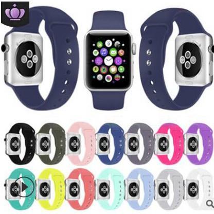สาย applewatch สายนาฬิกา applewatch สายซิลิโคนสำรองเปลี่ยน Apple Watch Series 1/2/3/4/5 สาย Apple watch iWatch สาย 38mm