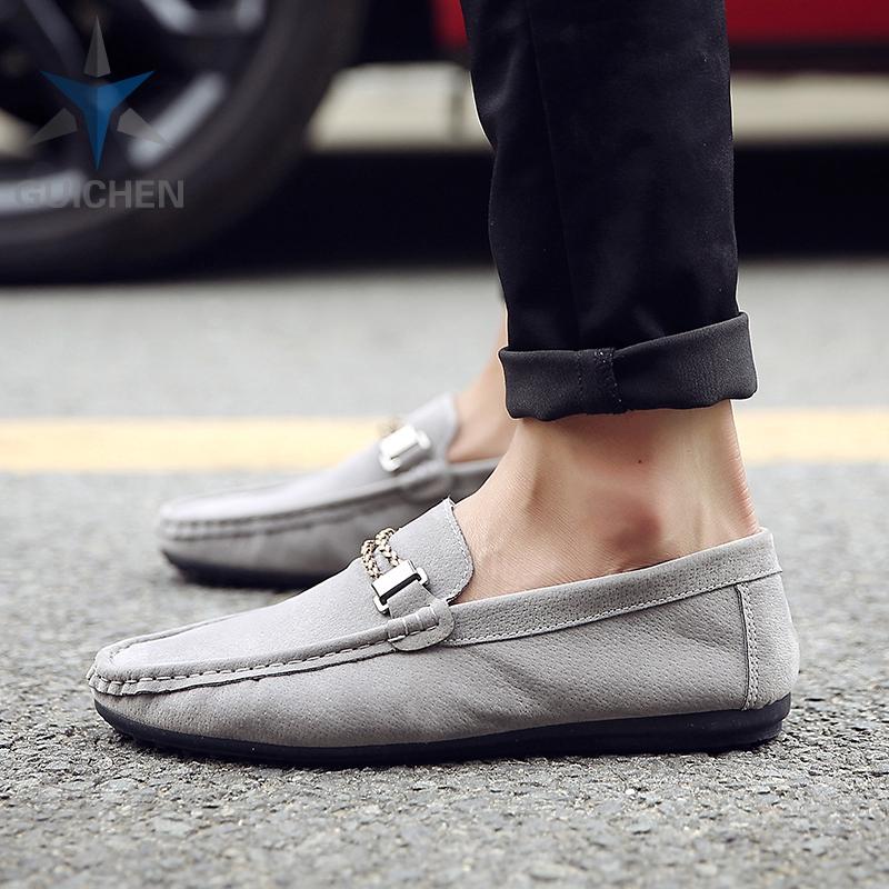 ⚡GC รองเท้าคัชชู รองเท้าโลฟเฟอร์หนัง สีดำ สำหรับผู้ชาย รองเท้าหนังแฟชั่น loafer 02