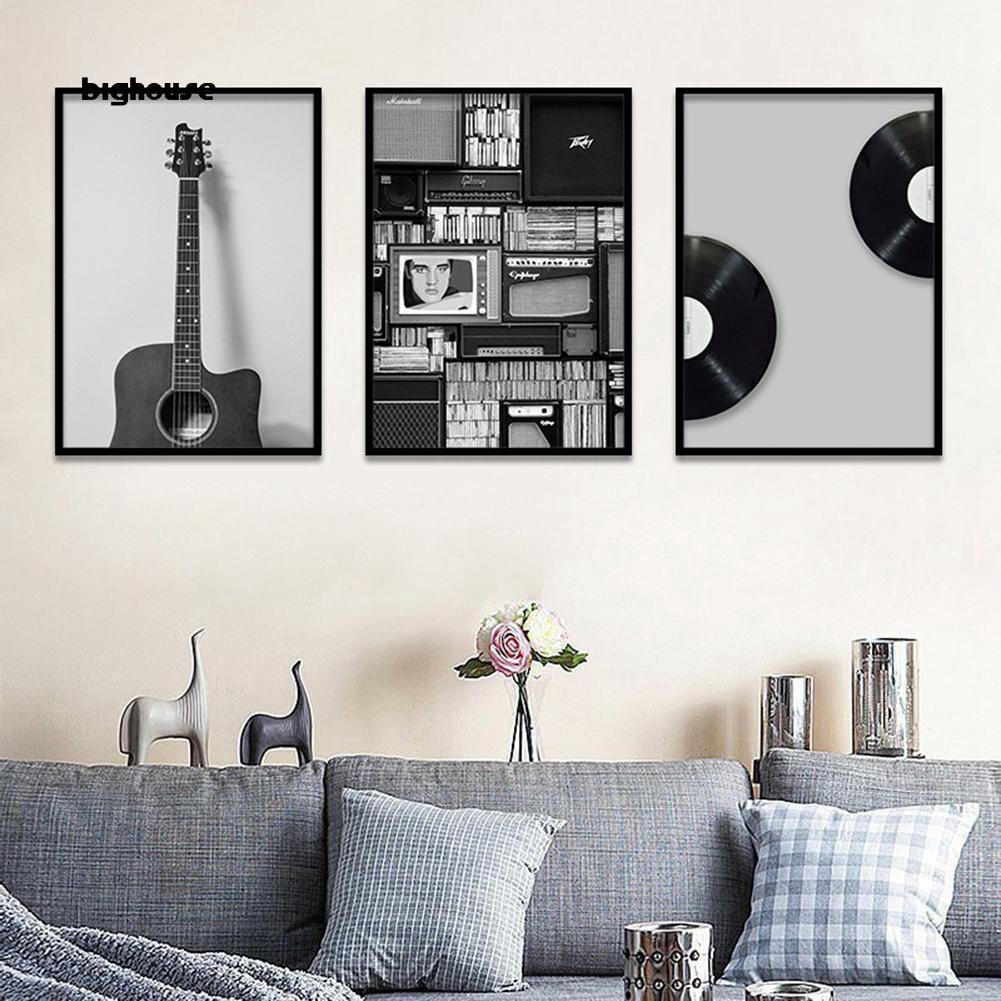 Bighouse Nordic Guitar Music Poster