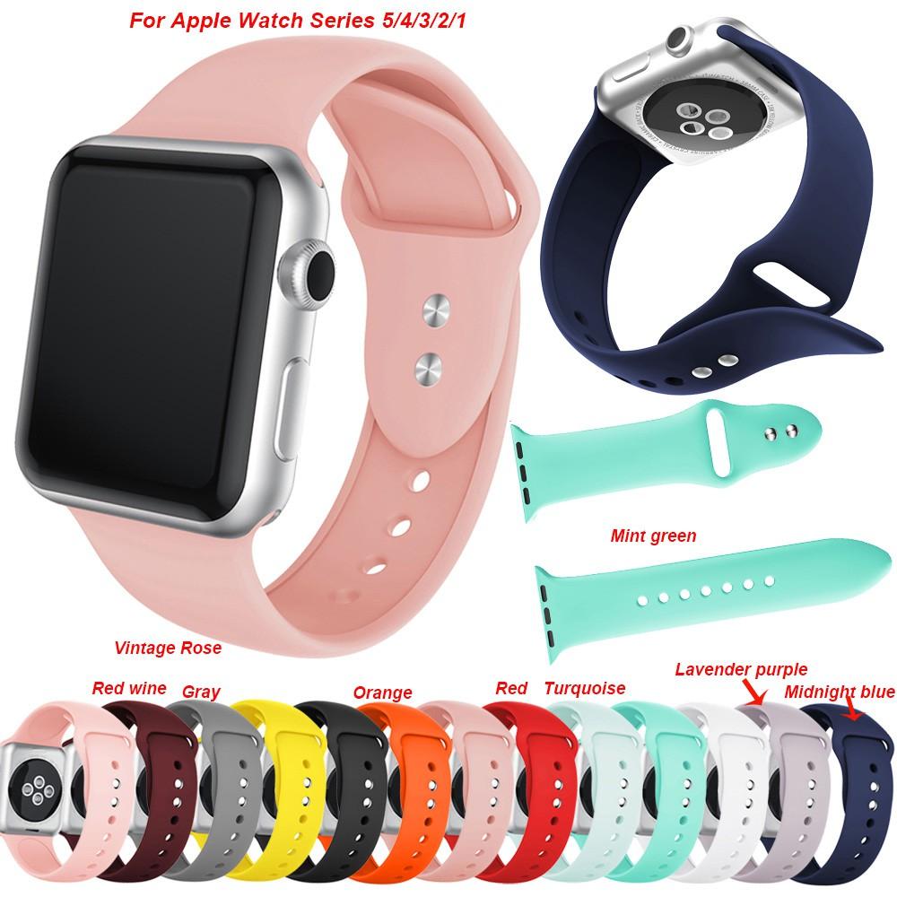 สายรัดข้อมือสำหรับ Apple Watch Band 40 mm 44 mm Series 5 / 4 / 3 / 2 / 1 Band