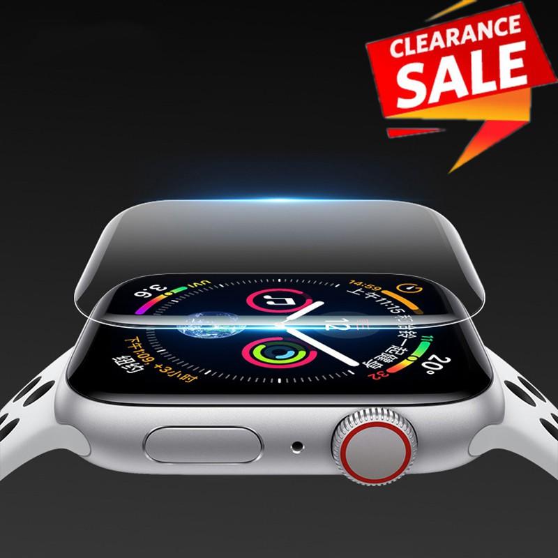 ฟิล์มกันรอยหน้าจอสําหรับ Apple Watch Series 5 4 3 2 1 2 ชิ้น 38 มม . 40 มม . 42