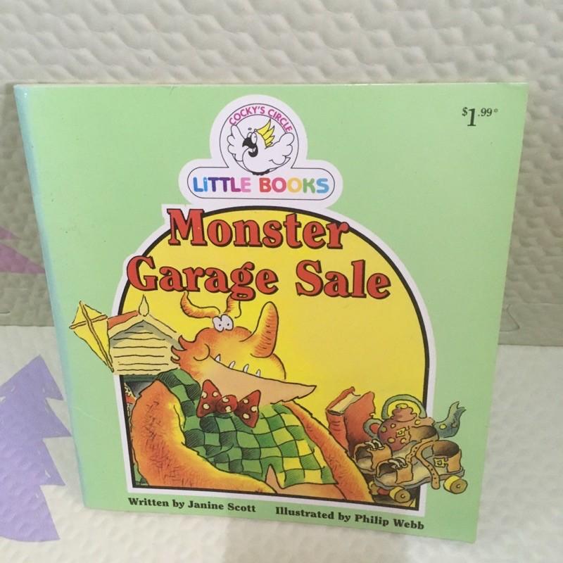 Little books Monster Garage Sale(ปกอ่อน)