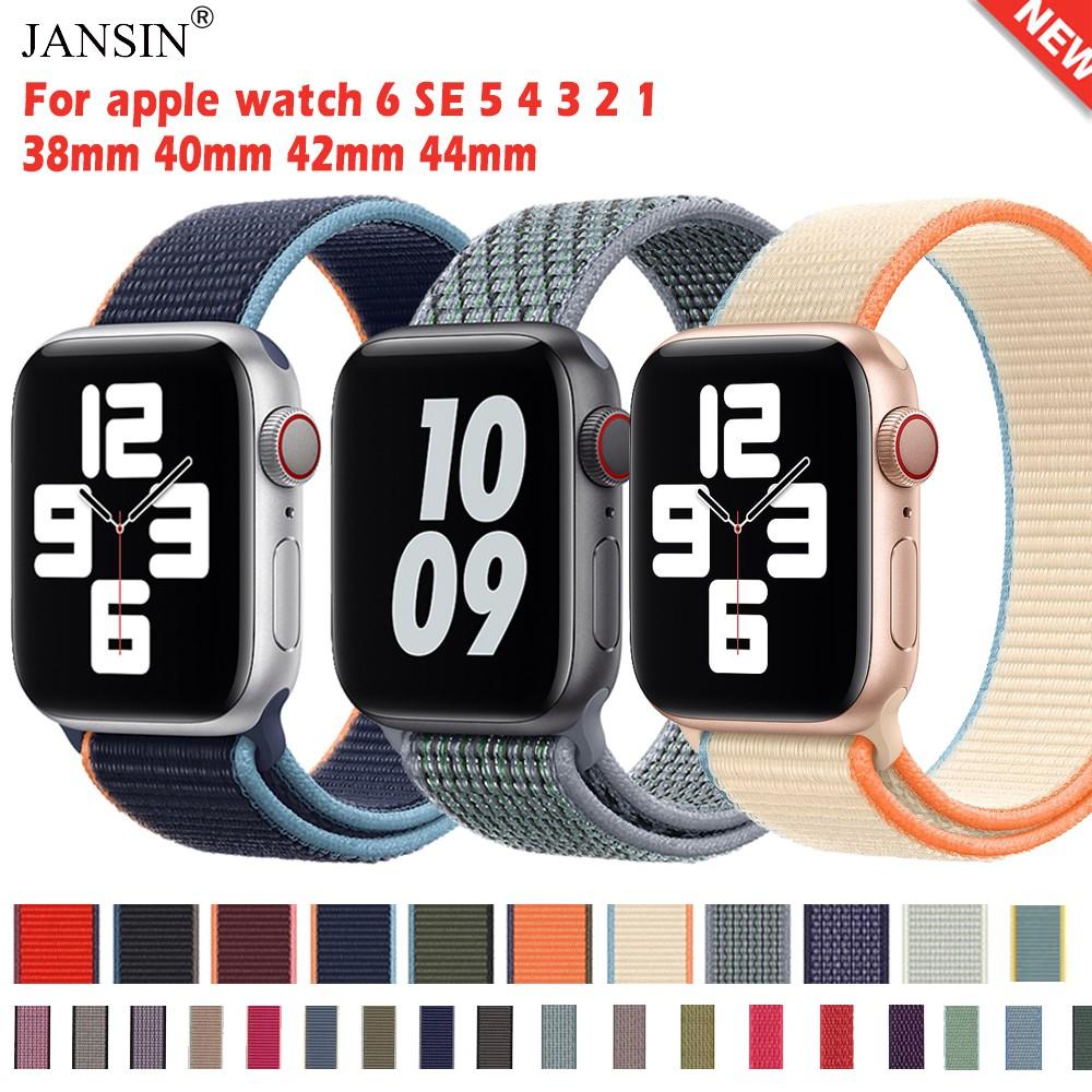 สายนาฬิกาข้อมือ สำหรับ Apple Watch Series SE 6 5 4 3 2 1 ขนาด 42 มม 38 มม 40 มม 44 มม