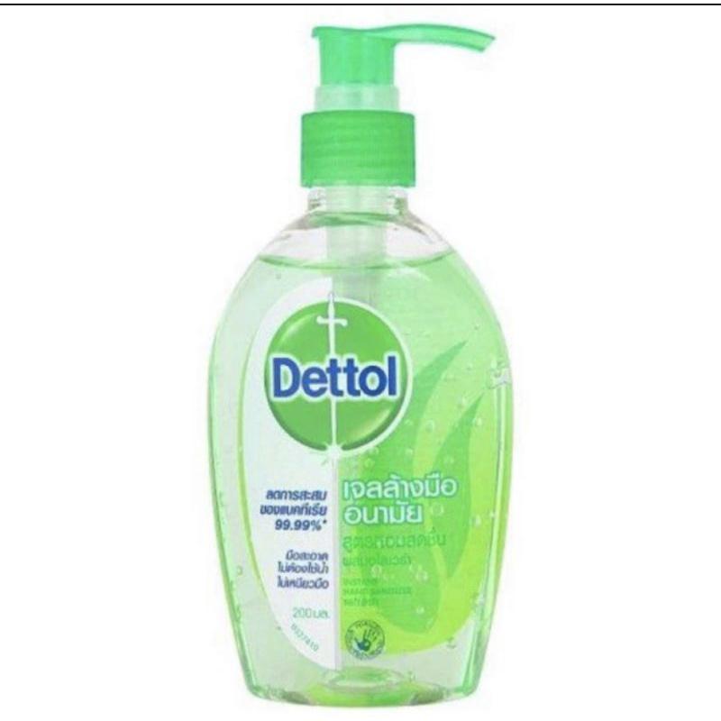 เจลล้างมือ Dettol 200มล