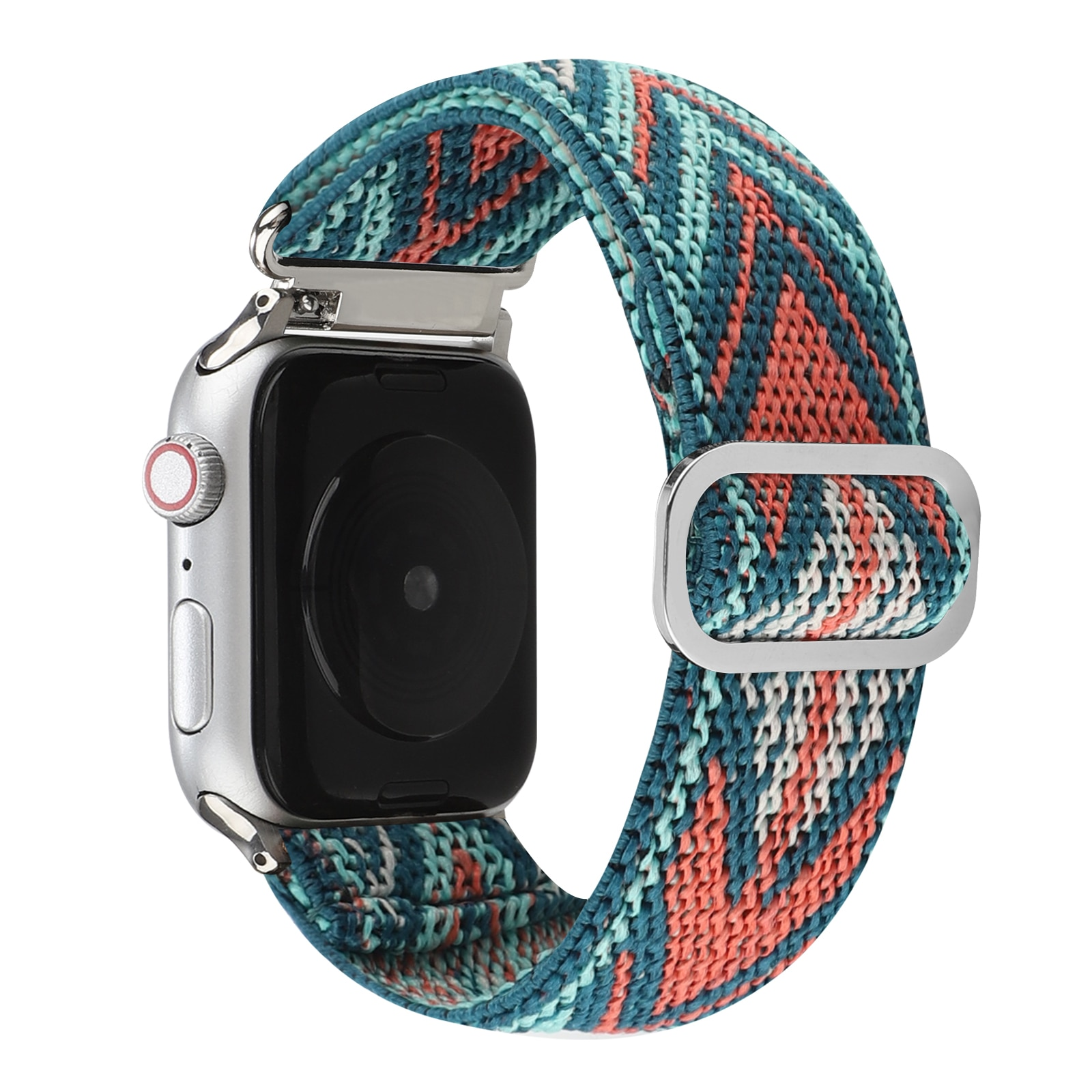 Sports Solo Loop Band for Apple Watch Series 6 SE 5 4 3 Elastic iwatch 38mm 40mm 42mm 44mm Correa Solo Belt Adjustable.